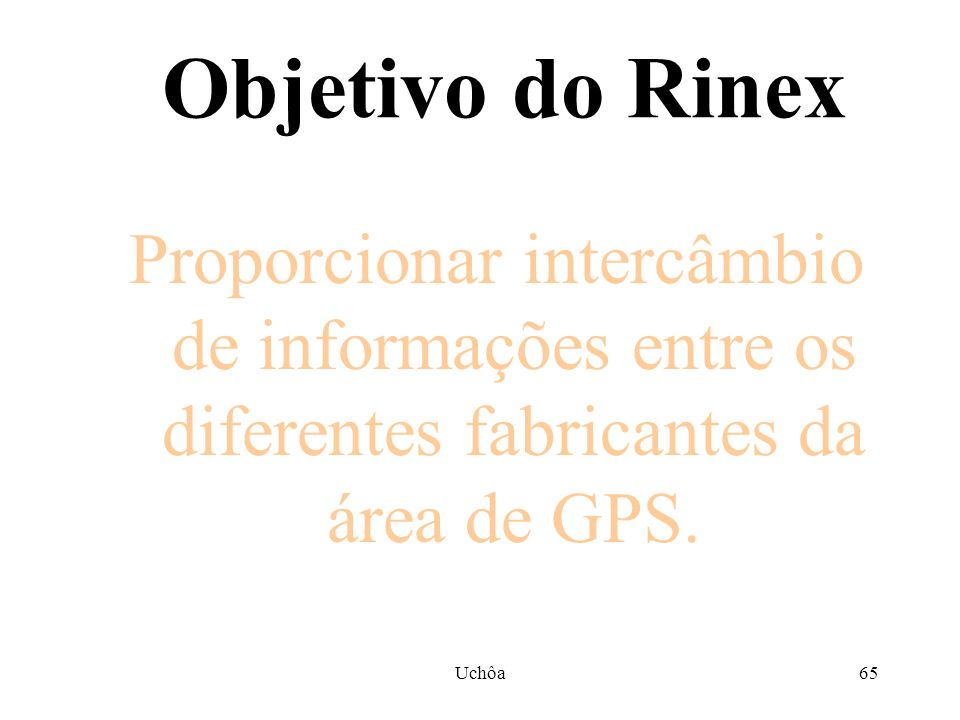 Uchôa64 Arquivos Rinex