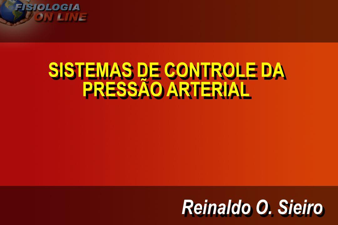 PRESSÃO ARTERIAL E VOLUME DE LEC PRESSÃO ARTERIAL EXCREÇÃO RENAL DE [ Na + H 2 0 ] VOLUME: - LEC - SANGUÍNEO PRESSÃO MÉDIA DE ENCHIMENTO TAXA DE ACÚMULO [ Na + H20 ] INGESTÃO DE Na+ H20 QUANTIDADE TOTAL Na+ H20 RV + DC ART RPT