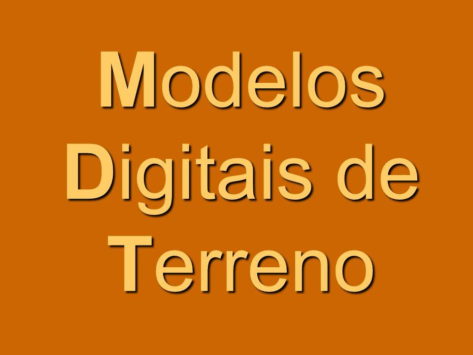 O modelo digital de pendentes rio Ibias MDT MDP a 10 a 01 70 ° 0º