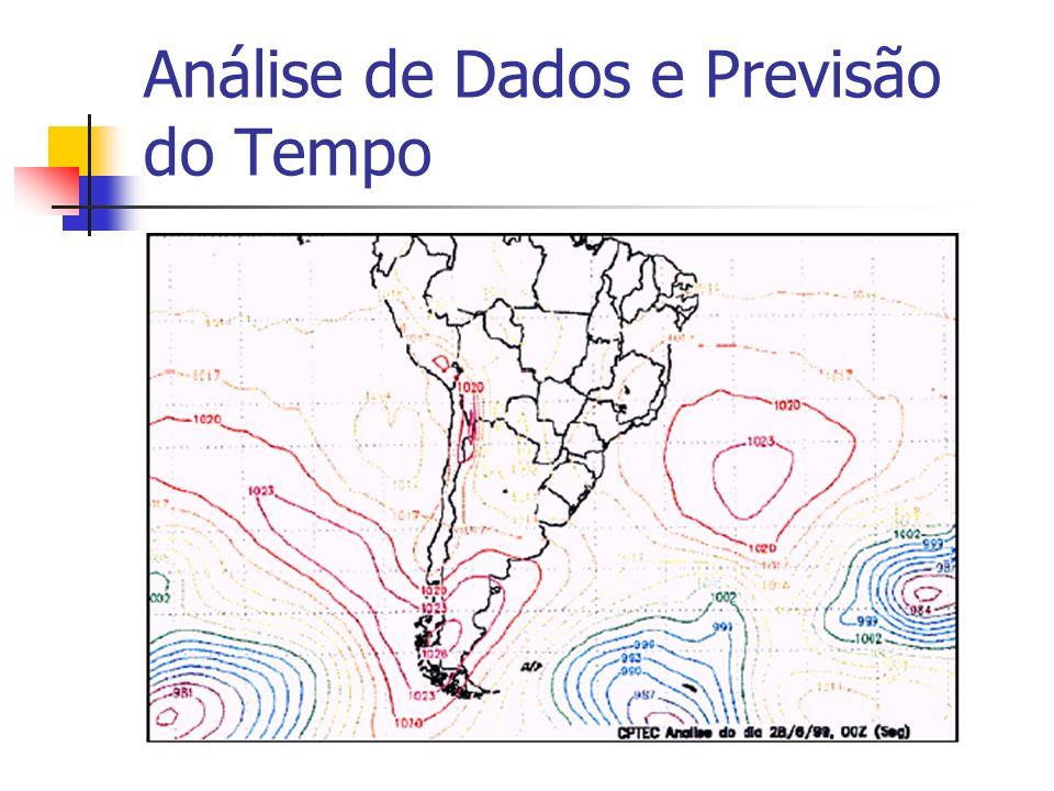 Análise de Dados e Previsão do Tempo