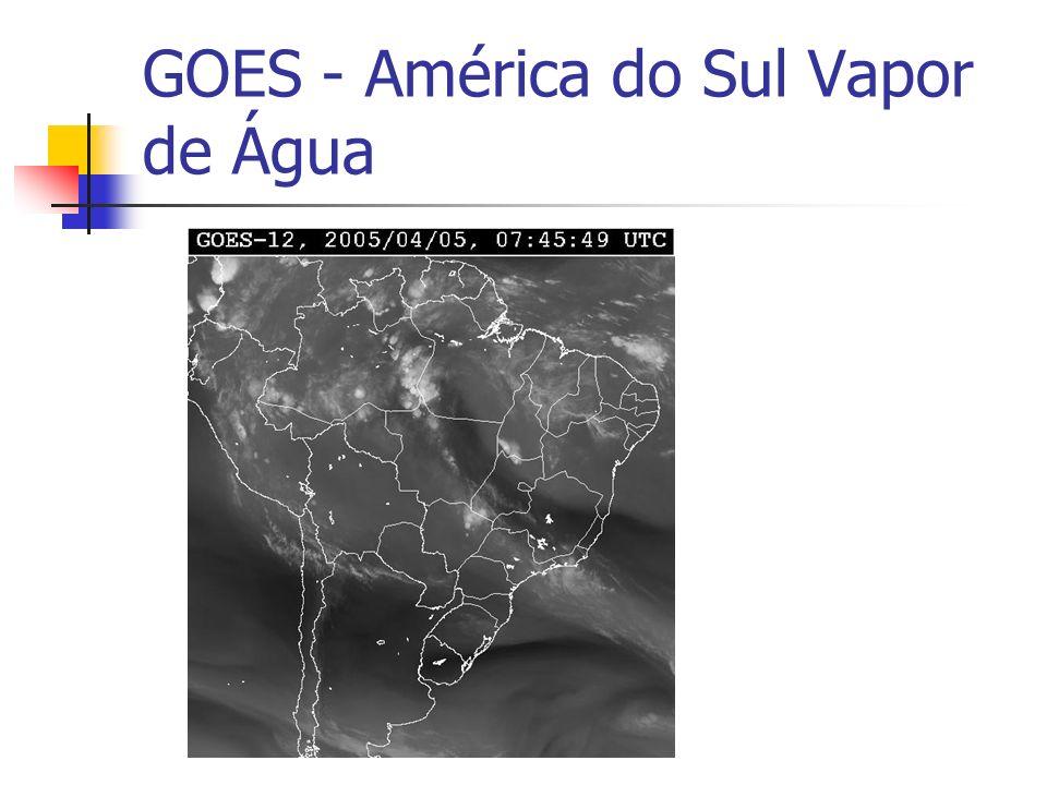 GOES - América do Sul Vapor de Água