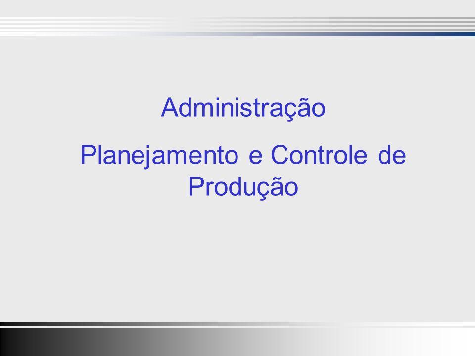 Clique para editar o estilo do título mestre Clique para editar os estilos do texto mestre Segundo nível Terceiro nível Quarto nível Quinto nível 1 Clique para editar o estilo do título mestre Clique para editar os estilos do texto mestre Segundo nível Terceiro nível Quarto nível Quinto nível 1 Administração Planejamento e Controle de Produção