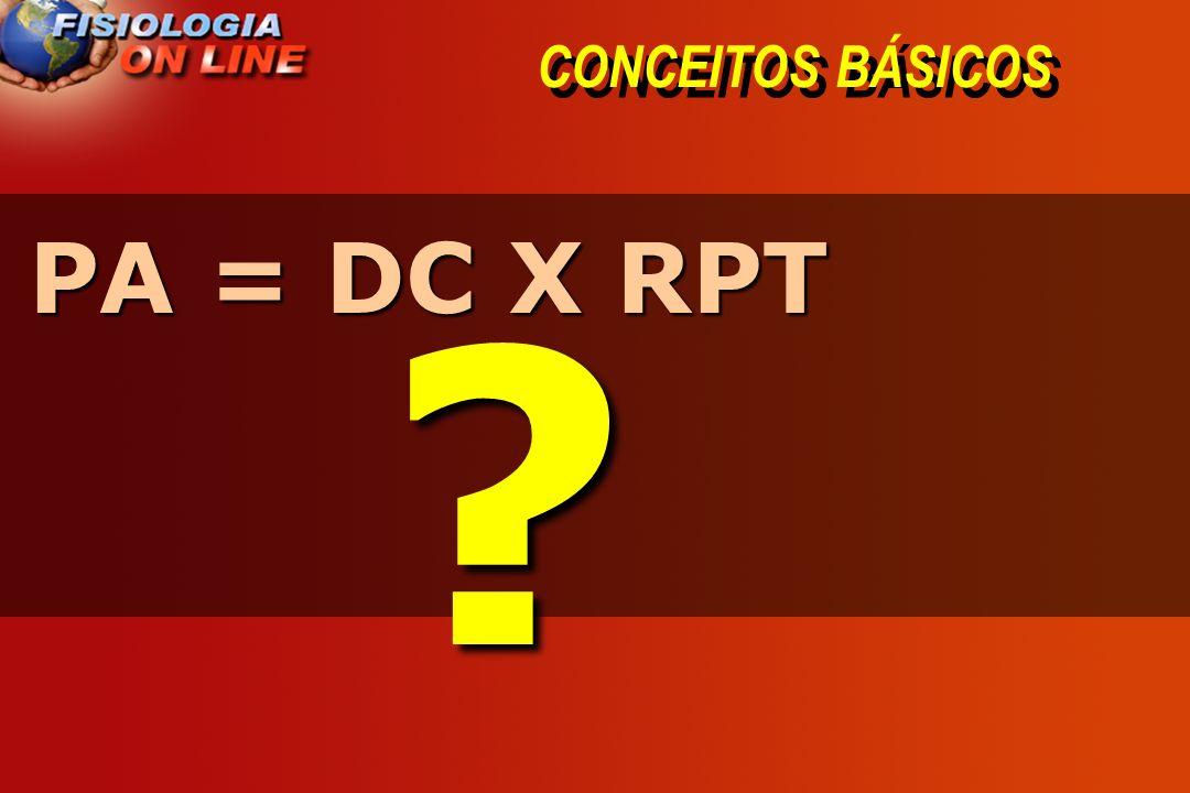 CONCEITOS BÁSICOS PA = DC X RPT ?