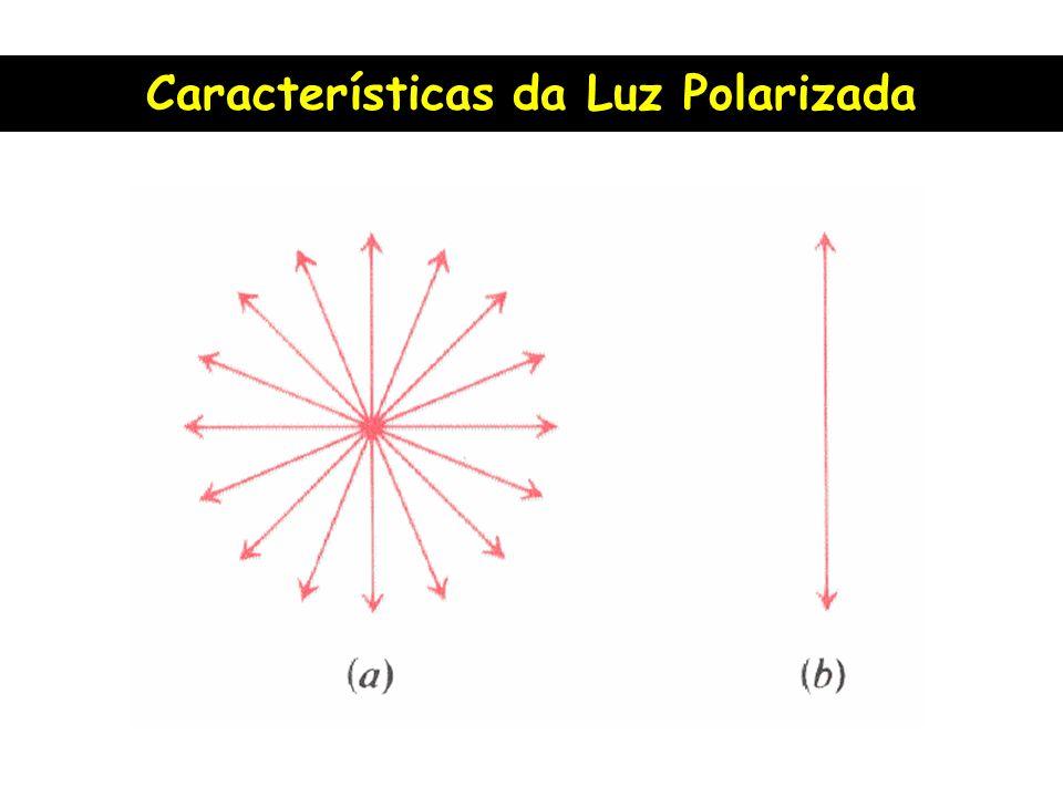 Características da Luz Polarizada