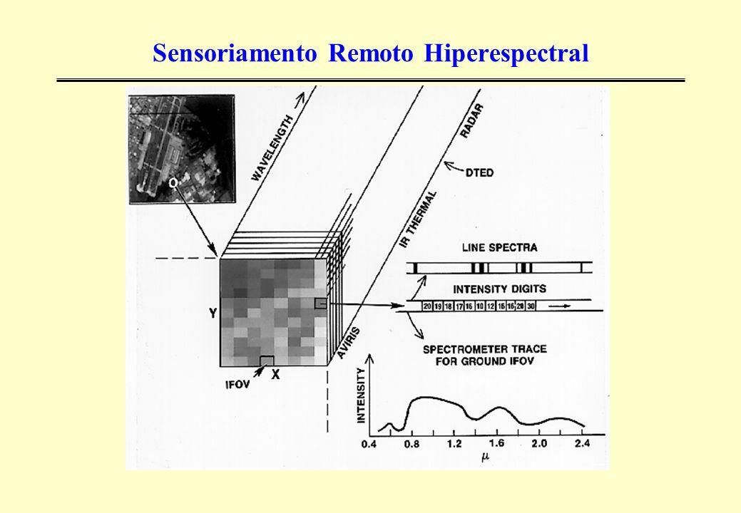 Sensoriamento Remoto Hiperespectral