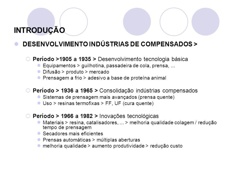 INTRODUÇÃO DESENVOLVIMENTO INDÚSTRIAS DE COMPENSADOS > Período >1905 a 1935 > Desenvolvimento tecnologia básica Equipamentos > guilhotina, passadeira