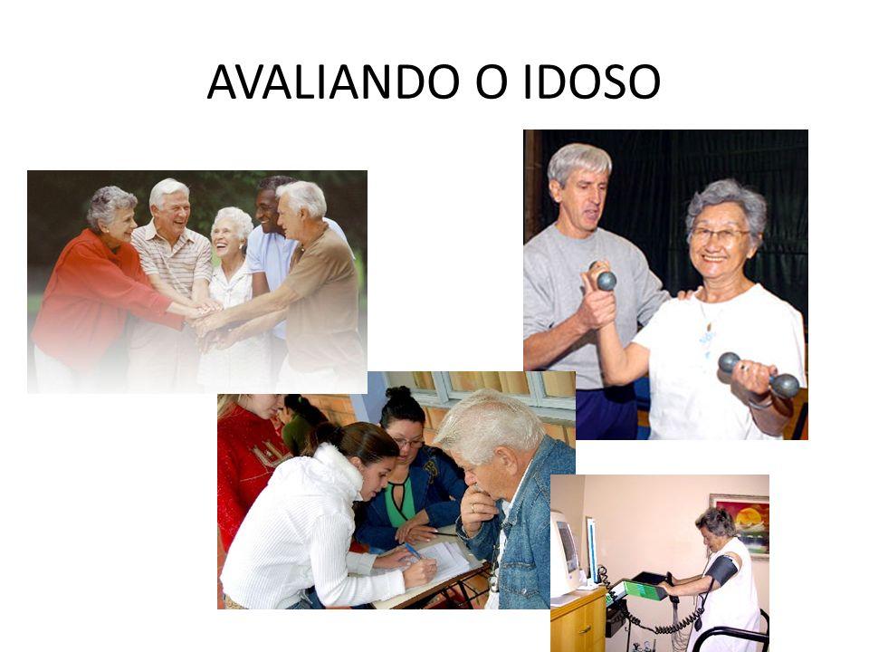 AVALIANDO O IDOSO