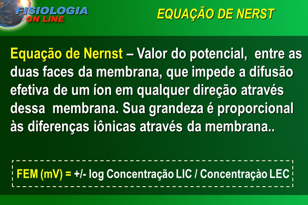 Reinaldo O. Sieiro RFA 02 POTENCIAIS DE MEMBRANA E DE AÇÃO RFA 02 POTENCIAIS DE MEMBRANA E DE AÇÃO