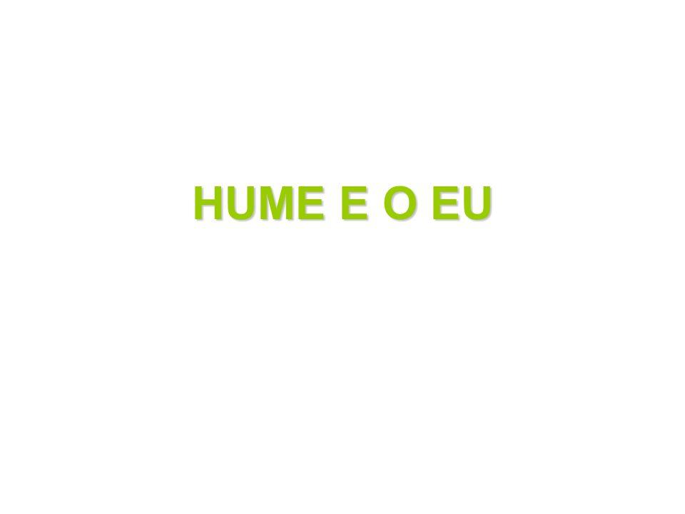 HUME E O EU