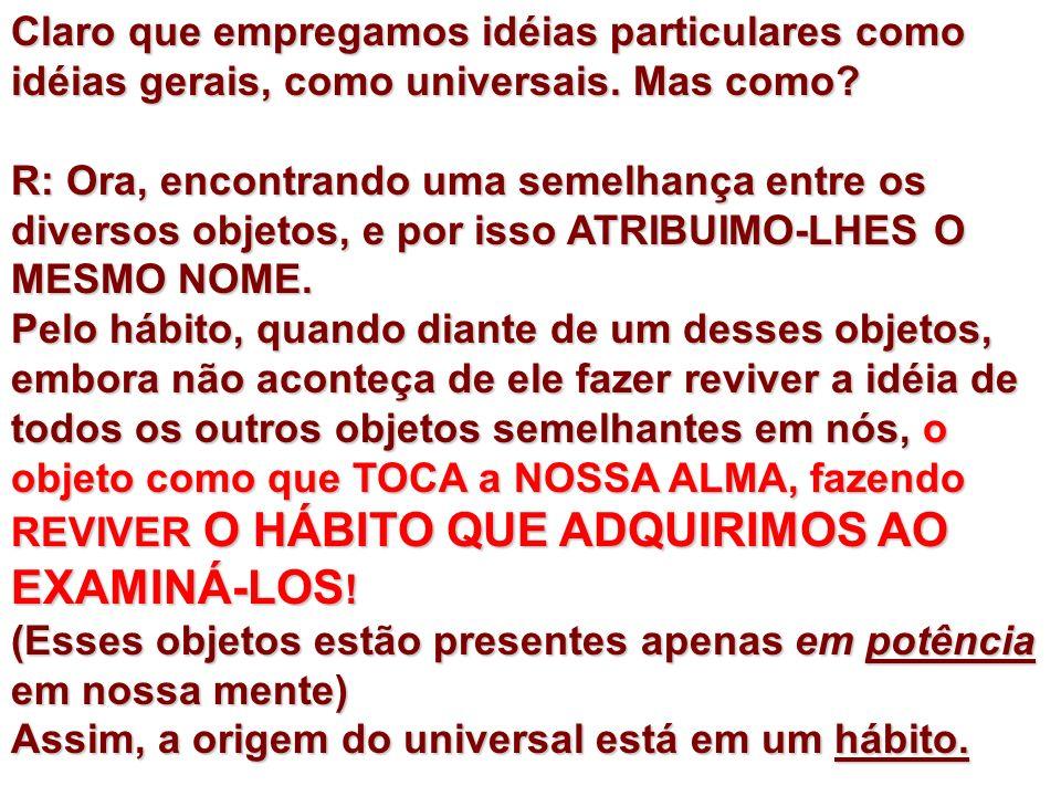 HUME E O MUNDO EXTERNO