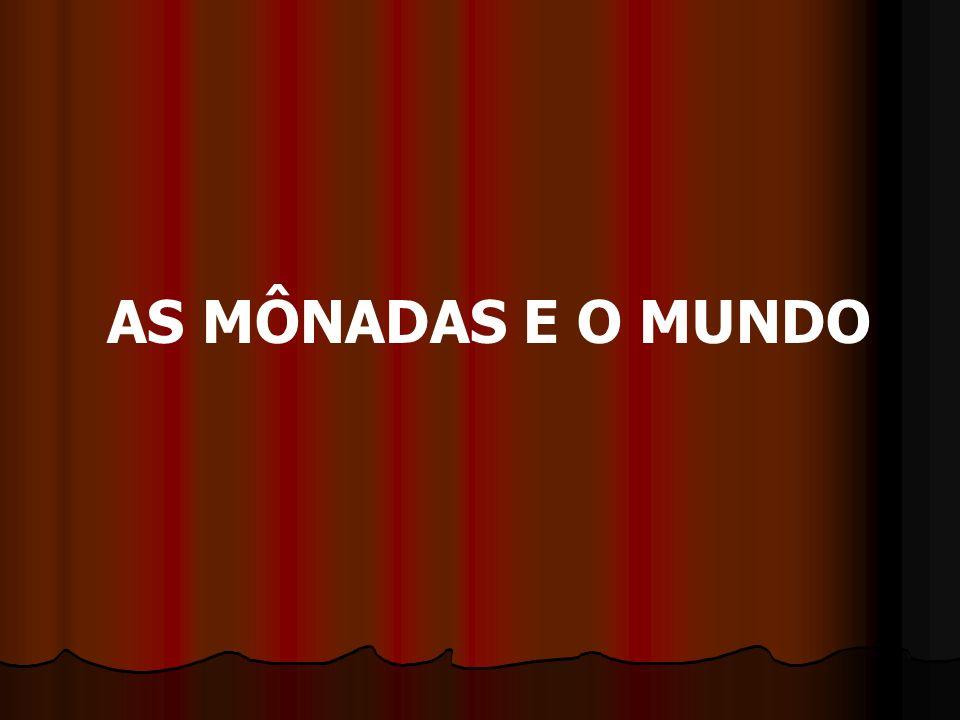 AS MÔNADAS E O MUNDO