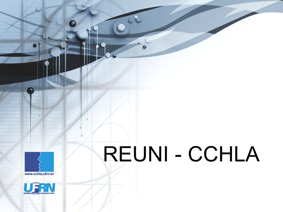 REUNI - CCHLA