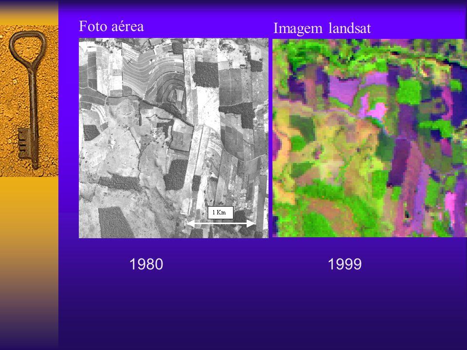 19801999 Imagem landsat Foto aérea