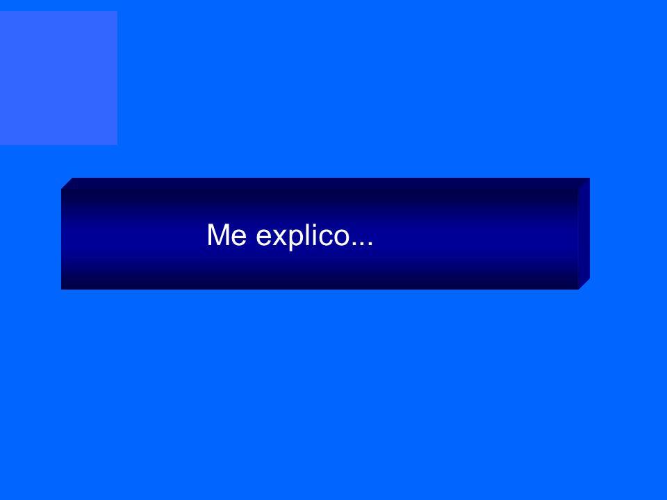 Me explico...