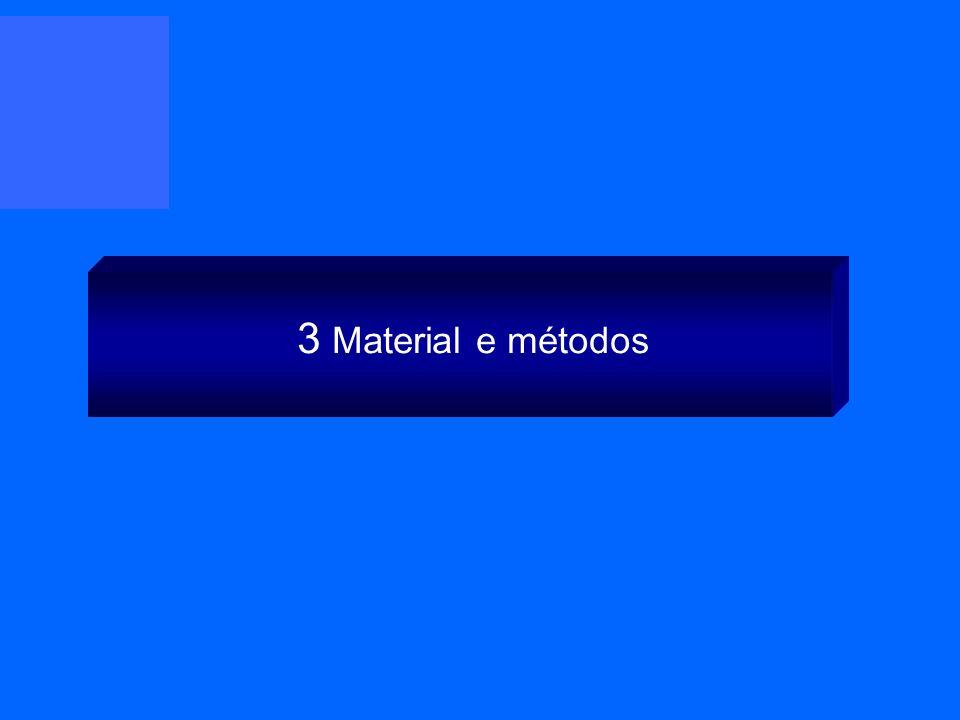 3 Material e métodos