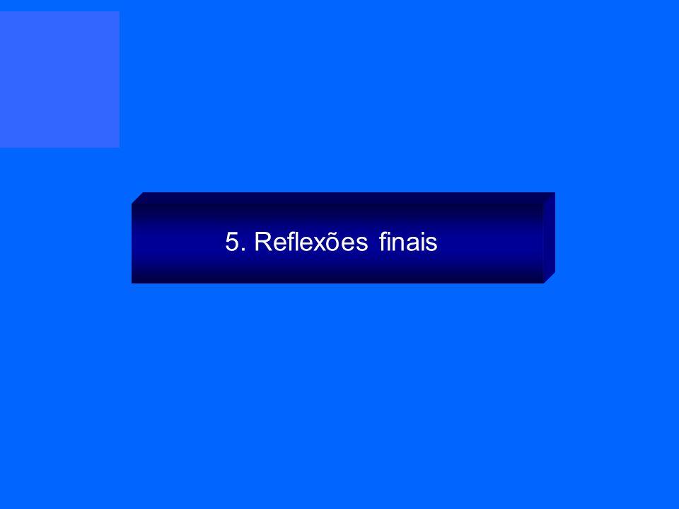 5. Reflexões finais