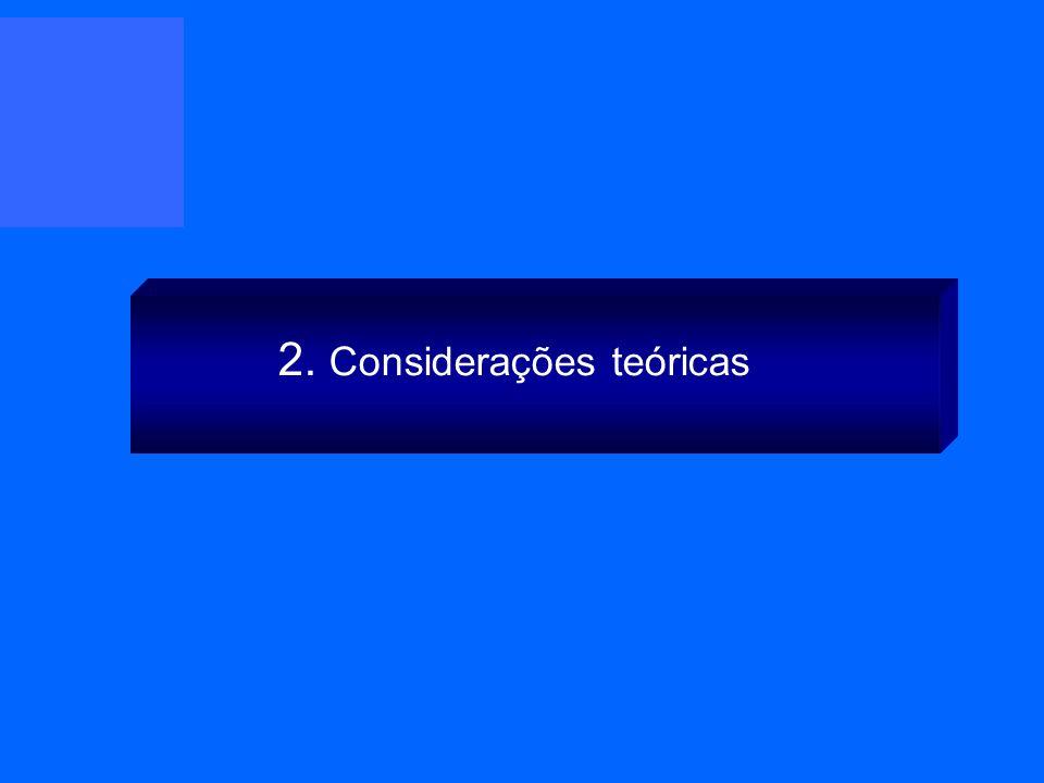 2. Considerações teóricas