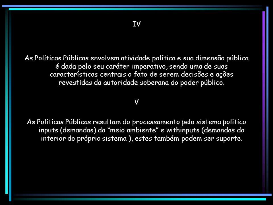 XII A obstrução e paralisia decisória.