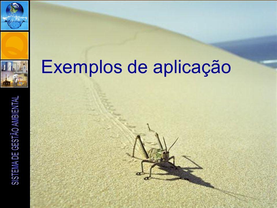ENG. AGRONOMA RENATA CAROLINA PIFER ABUJAMRA Exemplos de aplicação