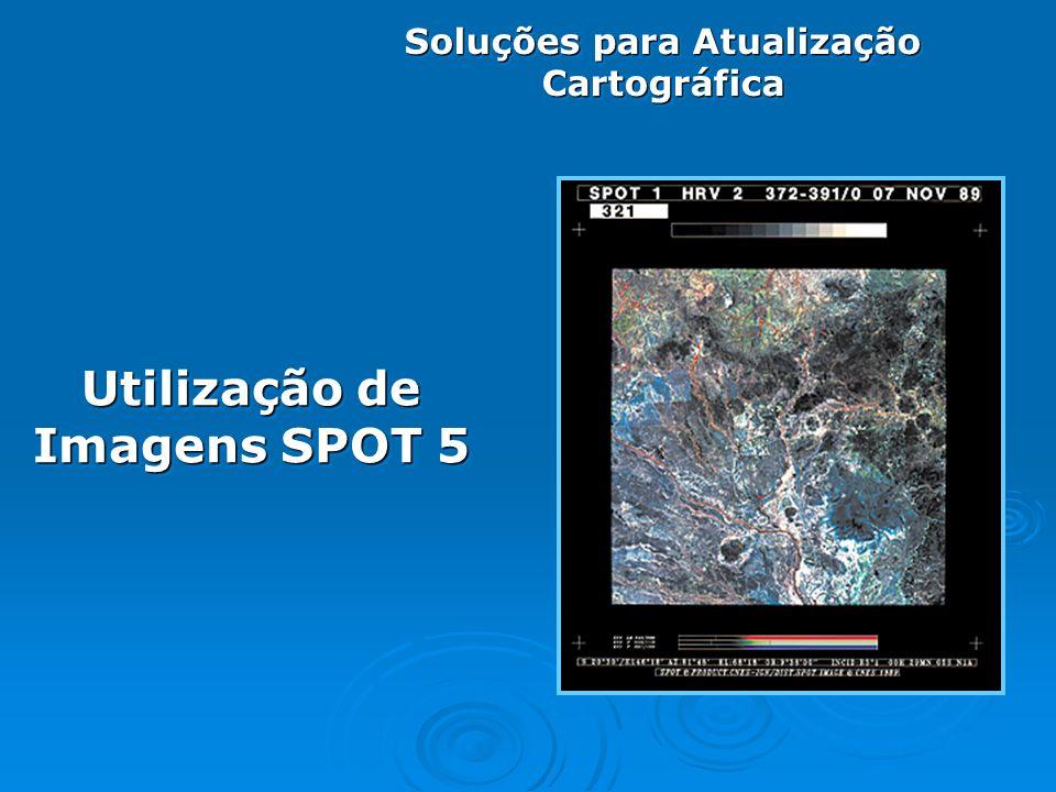 Utilização de Imagens SPOT 5 Soluções para Atualização Cartográfica