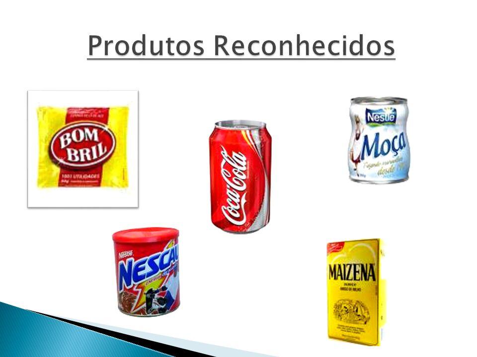 Produtos Reconhecidos Produtos Reconhecidos