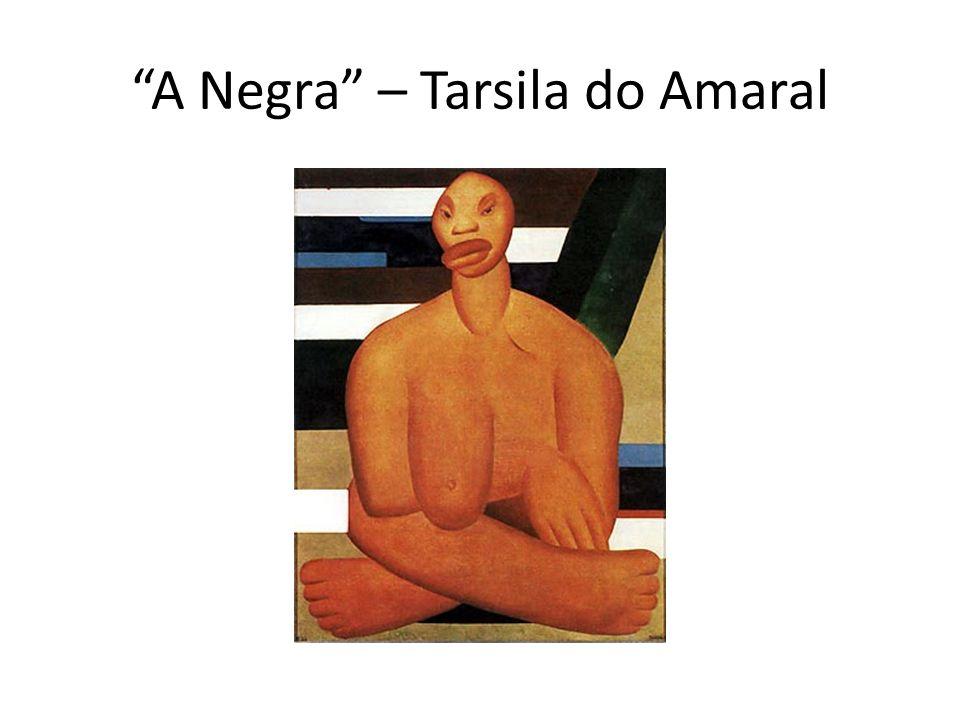 A Negra – Tarsila do Amaral