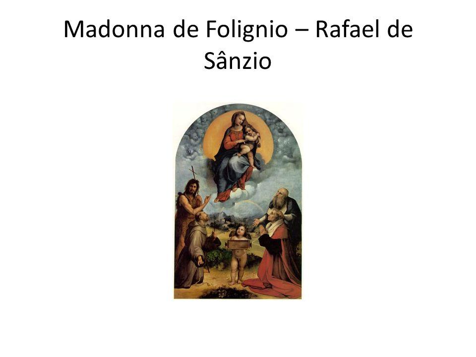 Madonna de Folignio – Rafael de Sânzio