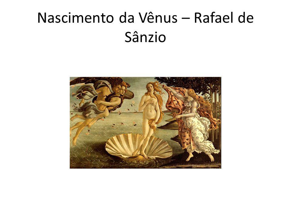 Nascimento da Vênus – Rafael de Sânzio