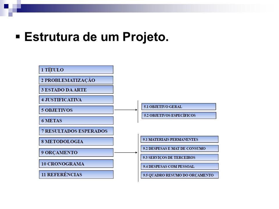 Estrutura de um Projeto.