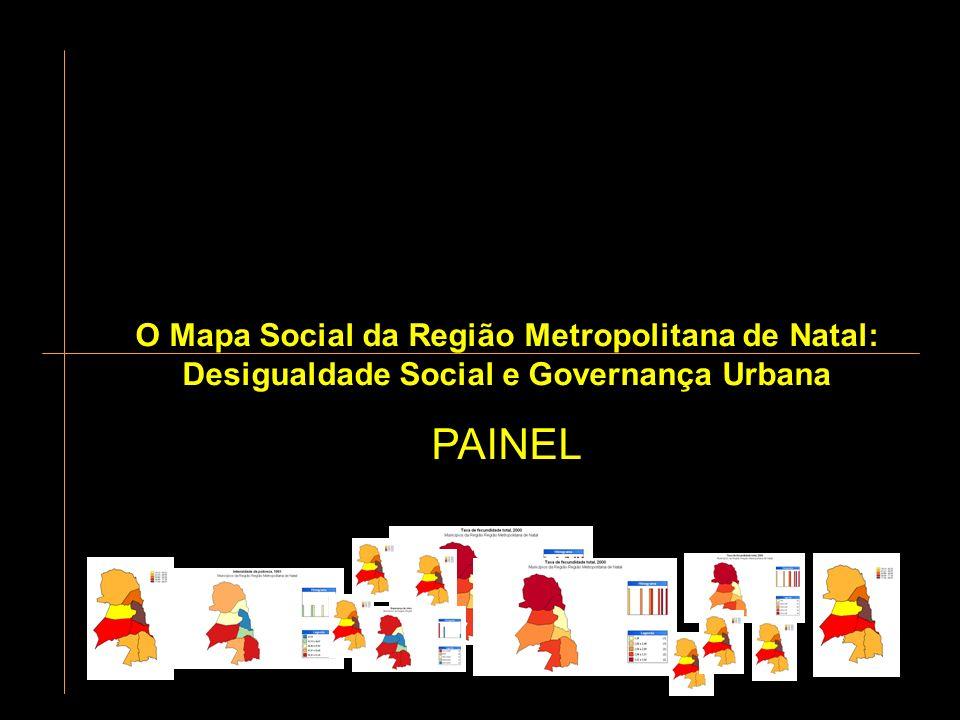 Intensidade de pobreza na RMN (1991-2000) ASPECTOS SOCIO-DEMOGRÁFICOS