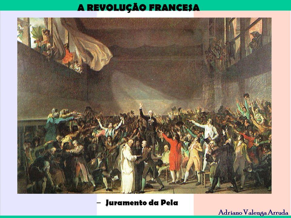 A REVOLUÇÃO FRANCESA Adriano Valenga Arruda – Juramento da Pela