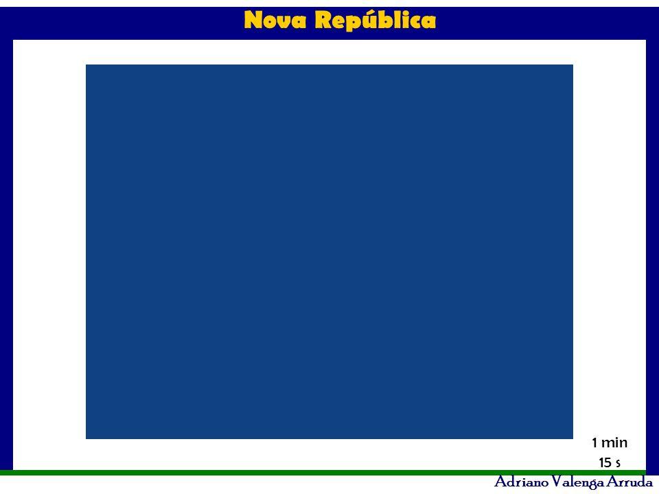 Nova República Adriano Valenga Arruda 1 min 15 s