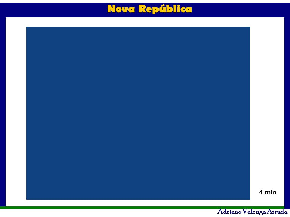 Nova República Adriano Valenga Arruda 4 min