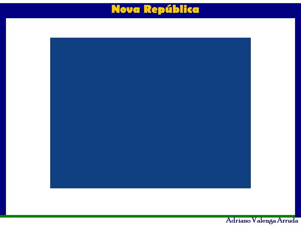 Nova República Adriano Valenga Arruda Itamar Augusto Cautiero Franco Mandato: 29/12/199 2 até 01/01/1995.