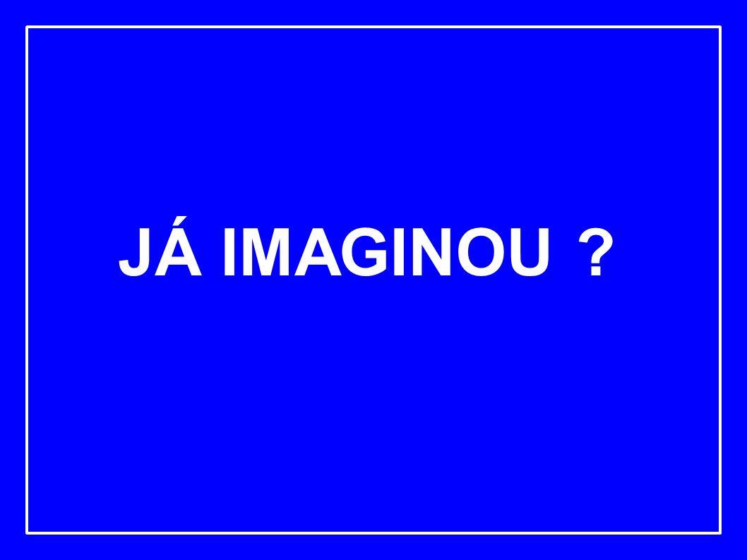 JÁ IMAGINOU ?