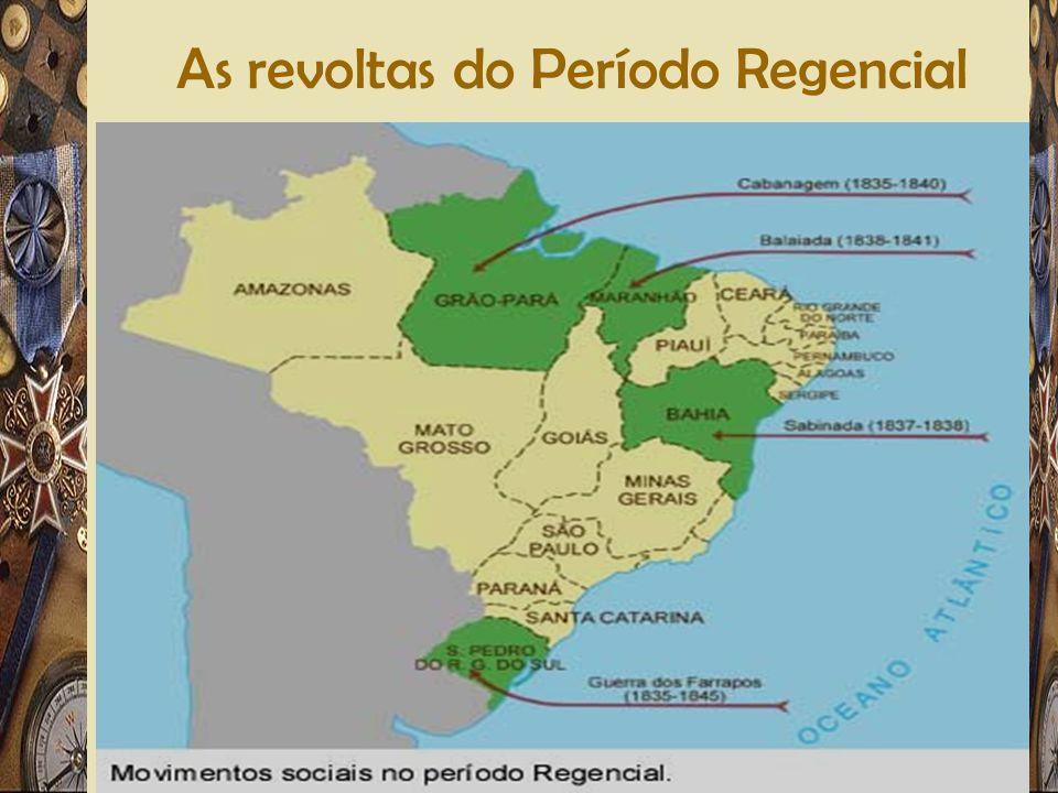 Adriano Valenga Arruda As revoltas do Período Regencial