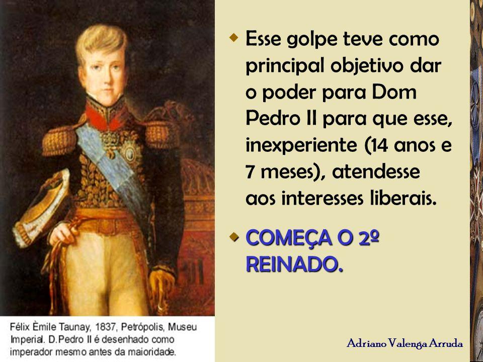 Esse golpe teve como principal objetivo dar o poder para Dom Pedro II para que esse, inexperiente (14 anos e 7 meses), atendesse aos interesses libera