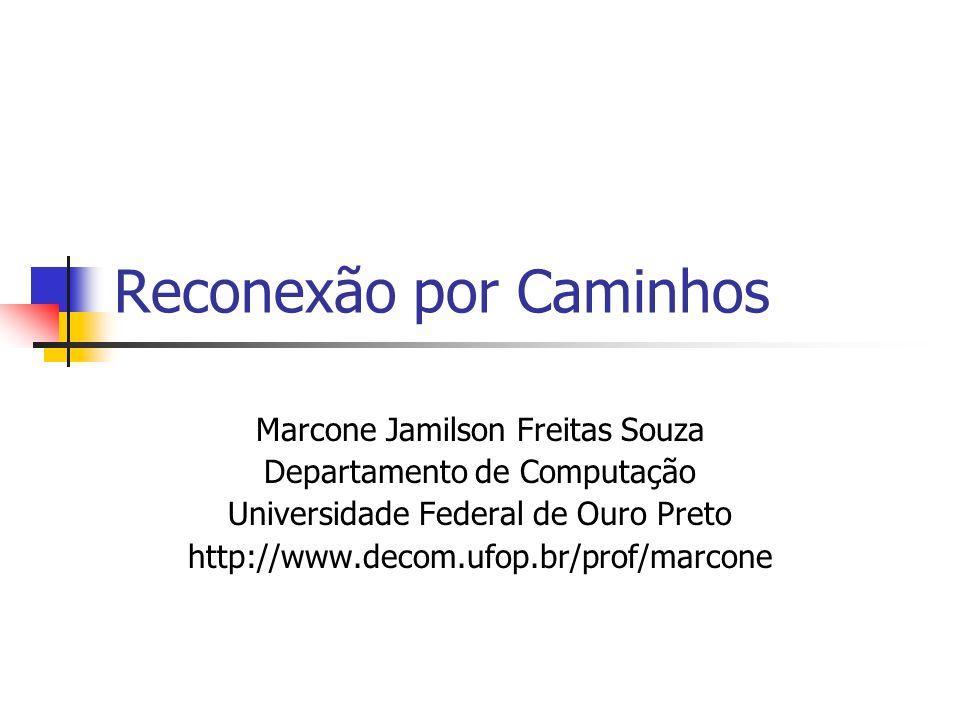 Reconexão por Caminhos Marcone Jamilson Freitas Souza Departamento de Computação Universidade Federal de Ouro Preto http://www.decom.ufop.br/prof/marcone