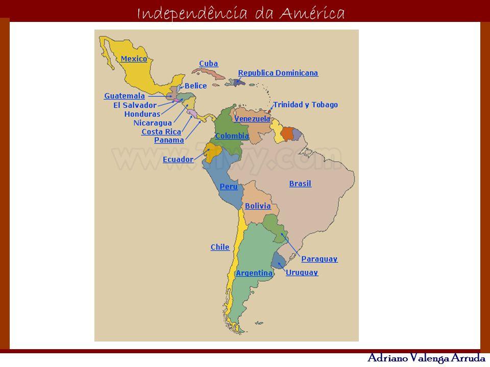 O maior conflito da história Independência da América Adriano Valenga Arruda # CAUSAS: Período Napoleônico - formação de juntas governativas- resistência local – autonomia.