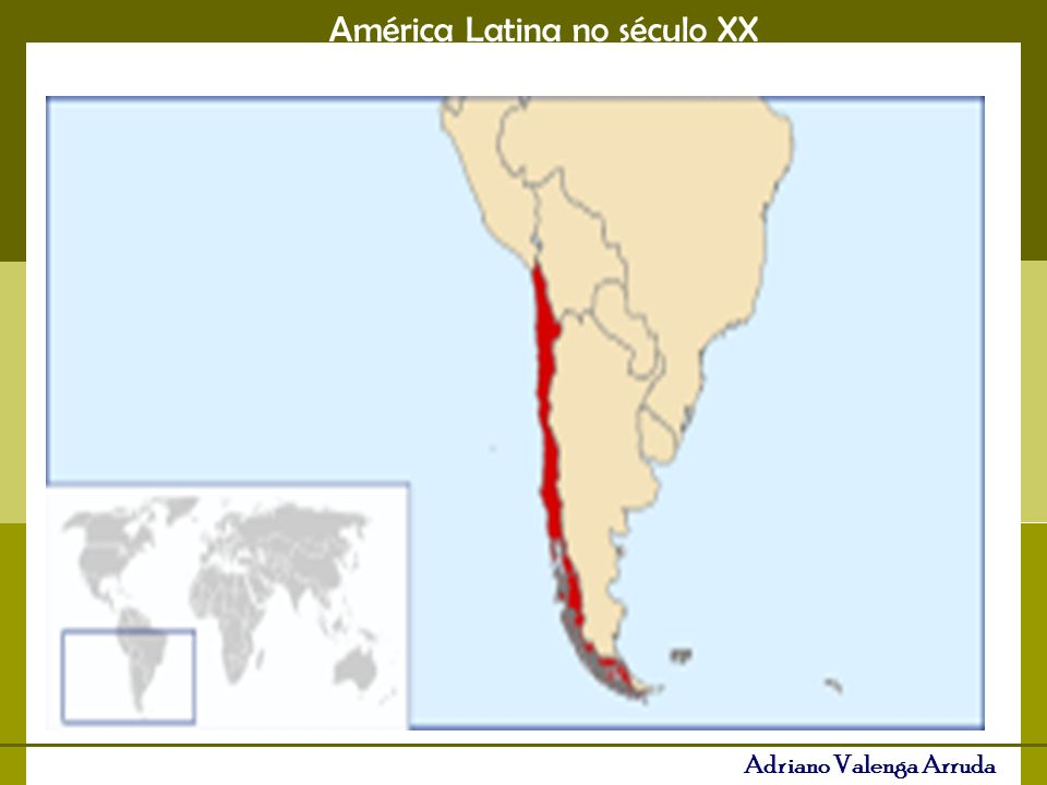 América Latina no século XX Adriano Valenga Arruda