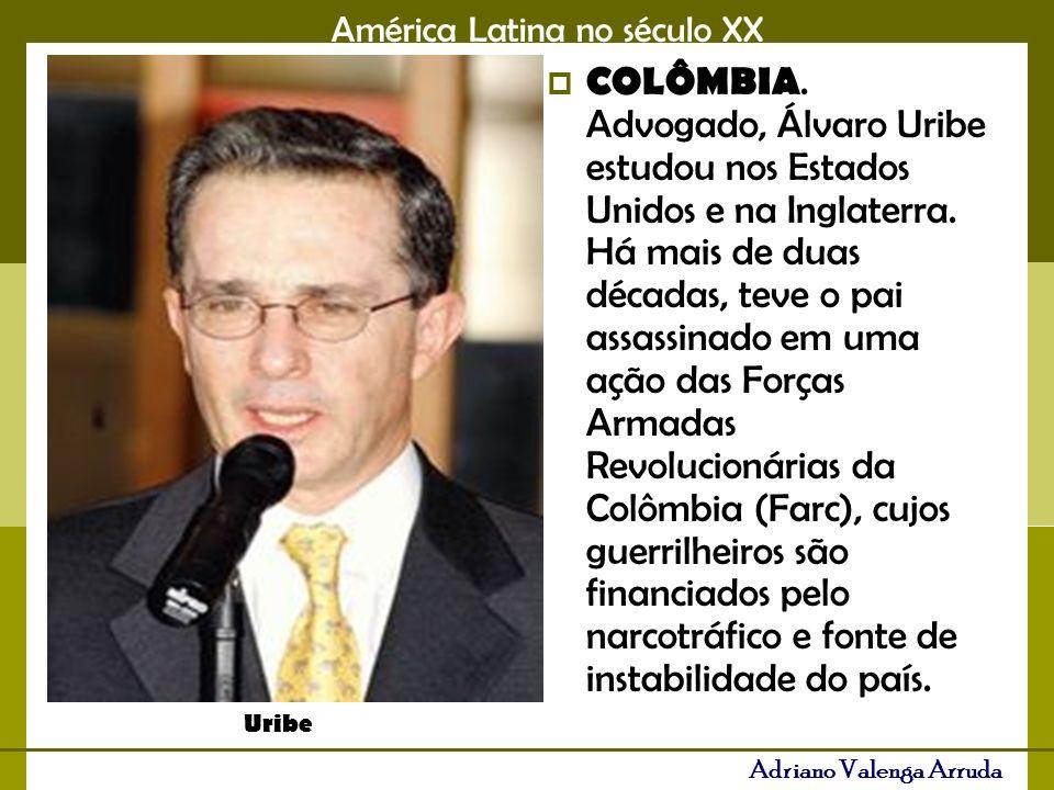 América Latina no século XX Adriano Valenga Arruda COLÔMBIA.