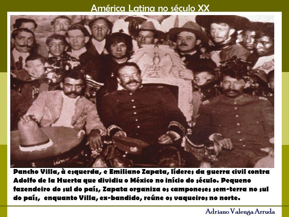 América Latina no século XX Adriano Valenga Arruda A partir da revolução sandinista, os EUA reagiram ao avanço popular com embargos econômicos e financiaram os chamados contras, colocando o país em situação de guerra novamente.
