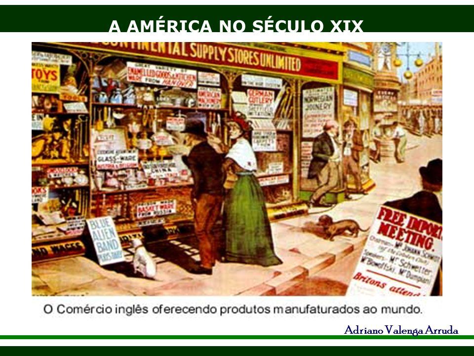 A AMÉRICA NO SÉCULO XIX Adriano Valenga Arruda Intervenção no Panamá, separação da Colômbia em 1903 - construção do Canal, importância, devolução em 1999.