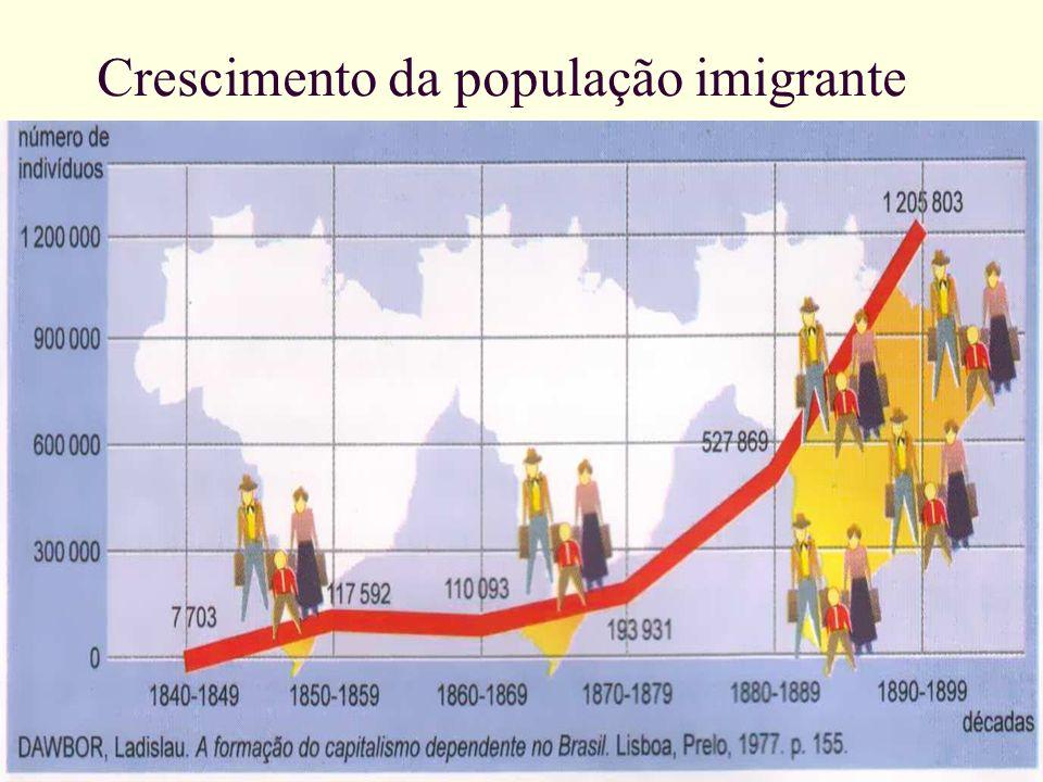 Adriano Valenga Arruda Crescimento da população imigrante