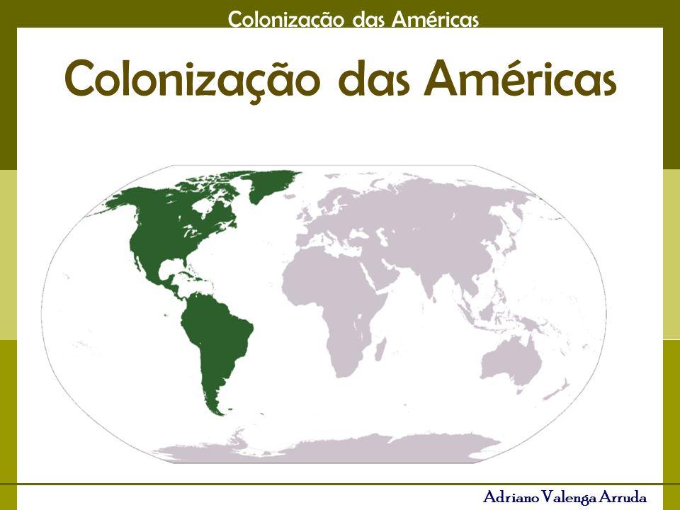 Adriano Valenga Arruda COLONIAS DE EXPLORAÇÃO COLÔNIA DE POVOAMENTO 1-Produção agrícola em grandes propriedade para exportação 1- Em pequena escala, consumo interno 2- Trabalho escravo, índios ou negro 2- Trabalho livre, assalariado 3- Pacto colonial rígido3- Ausência de Pacto colon.