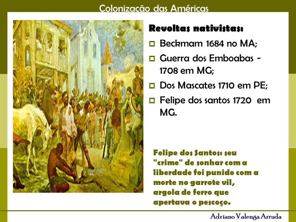 Colonização das Américas Adriano Valenga Arruda Os demais colonizadores como holandeses e franceses sobraram com pequenas áreas: Holandeses: Suriname e algumas ilhas nas Antilhas; Franceses: Guiana Francesa, parte dos USA e algumas ilhas nas Antilhas.