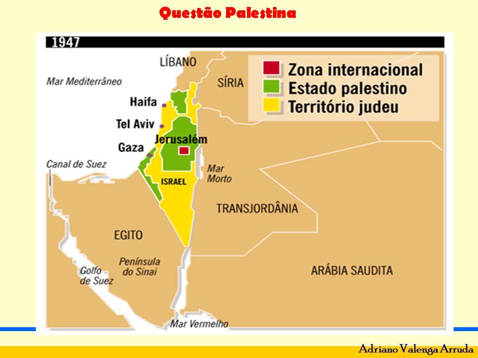 Questão Palestina Adriano Valenga Arruda