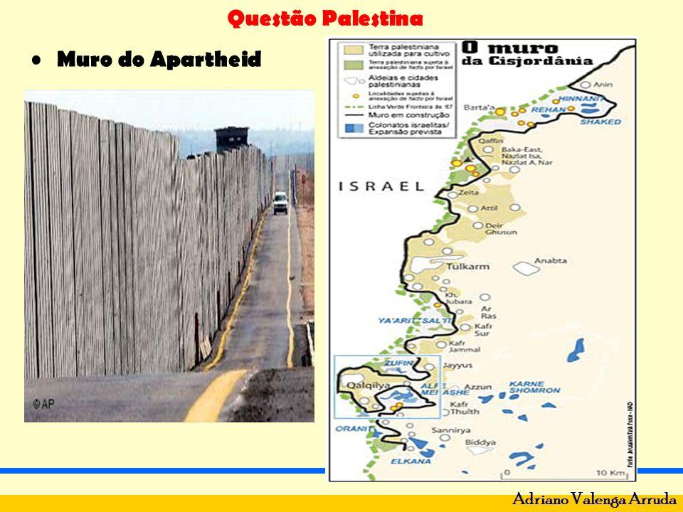 Questão Palestina Adriano Valenga Arruda Muro do Apartheid