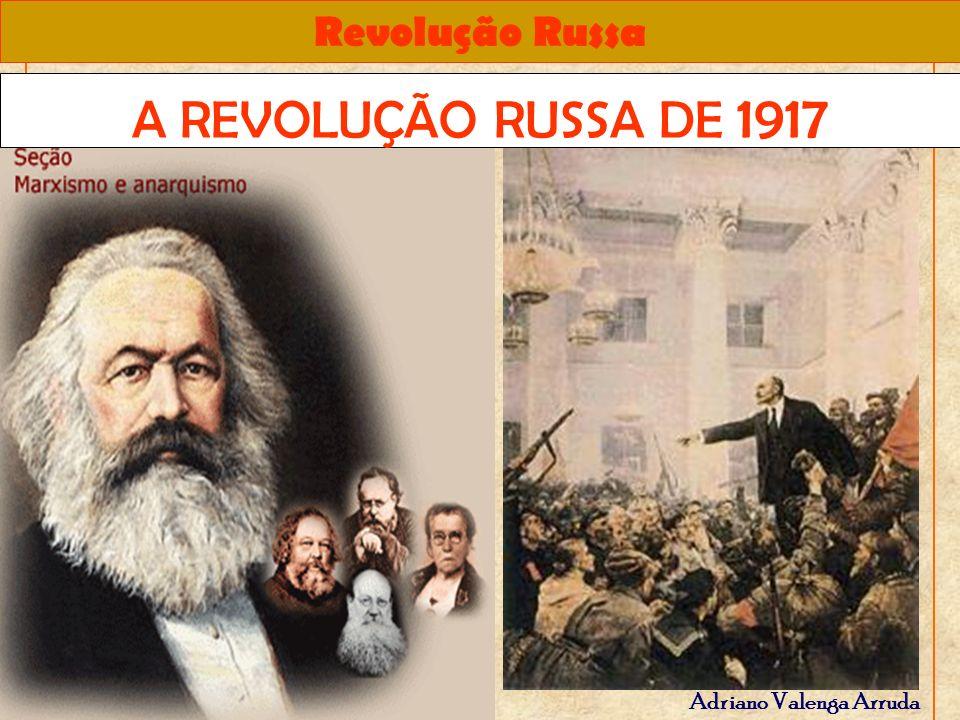 Revolução Russa Adriano Valenga Arruda - Comunismo de Guerra: centralização da produção, requisição agrícola forçada, eliminação da economia de mercado.