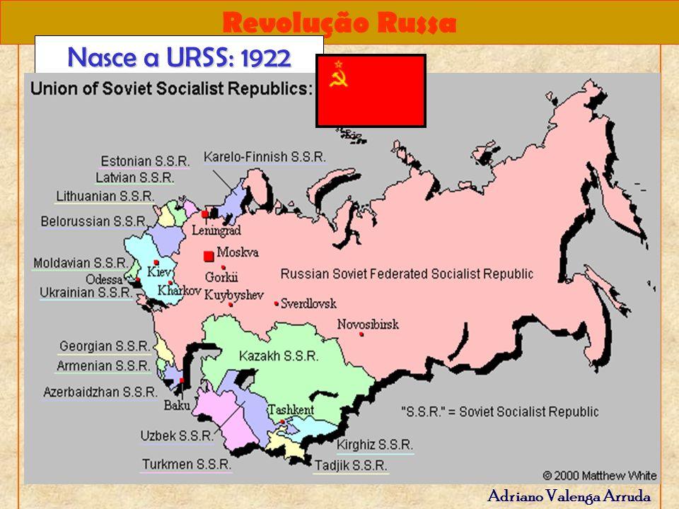 Revolução Russa Adriano Valenga Arruda Nasce a URSS: 1922